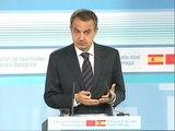 """Zapatero: """"En dos años han sido detenidos 365 presuntos etarras, uno cada dos días"""""""
