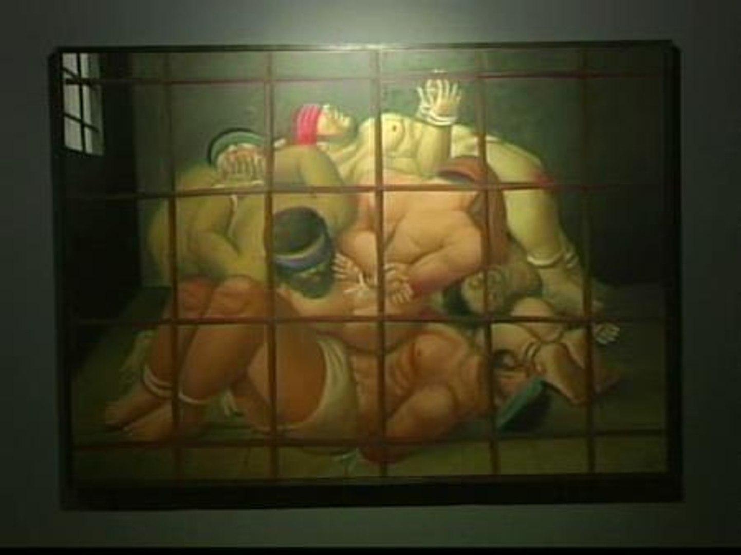 Botero juega a mezclar el horror de Abu Ghraib con la magia del circo