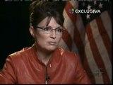 Palin se muestra firme con la inmigración ilegal en una televisión hispana