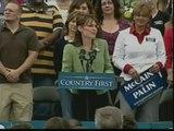 """Palin insiste en que Obama """"negocia con terroristas"""""""