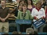 Palin relaciona a Obama con los terroristas