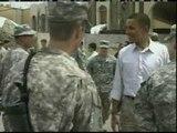 Barack Obama deja Iraq convencido de que debe retirar las tropas estadounideneses