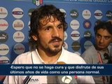 """Gattuso: """"No hace falta que Aragonés se haga cura"""""""