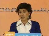 San Gil comunica a Rajoy que deja el liderazgo del PP vasco