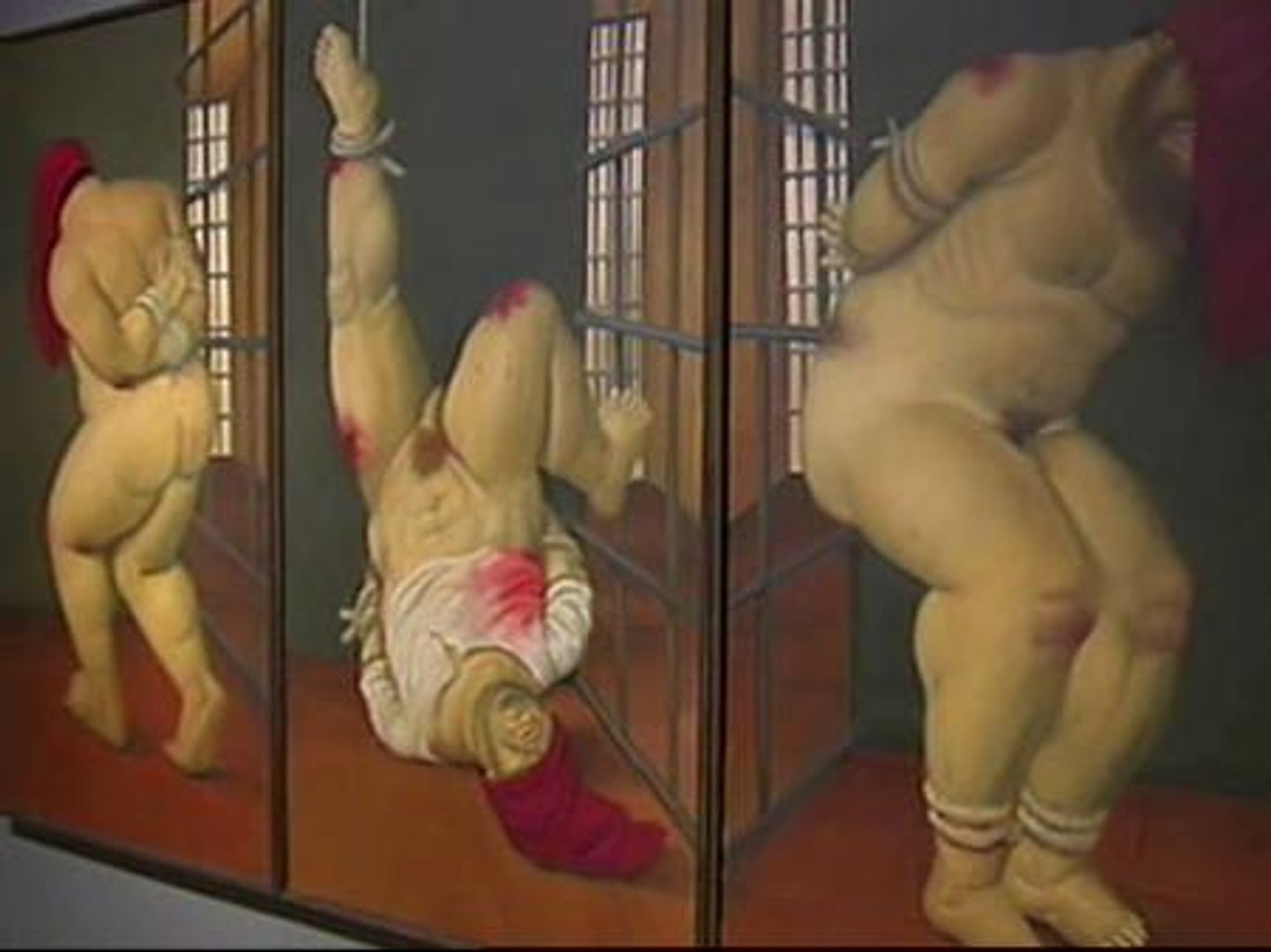 Botero representa las torturas de Abu Ghraib