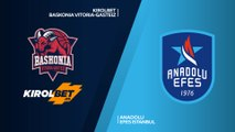 KIROLBET Baskonia Vitoria-Gasteiz - Anadolu Efes Istanbul Highlights   EuroLeague RS Round 29