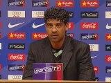 """Rijkaard: """"Estamos en una buena racha"""""""