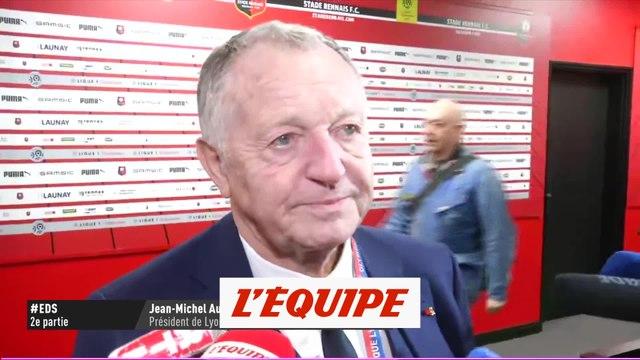 Aulas «Il y a eu ce petit brin de réussite» - Foot - L1 - Lyon