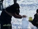 Una tormenta de nieve cubre Irán