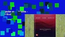 Popular Investments - Zvi Bodie
