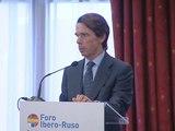"""Aznar: """"No hay que pagar un precio a ETA por matar o dejar de hacerlo"""""""