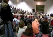 Jóvenes de toda Europa siguen llegando a Bruselas para la manifestación del sábado