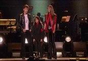 Los tres hijos de Jackson rinden homenaje a su padre en un concierto en Reino Unido