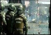 Enfrentamientos en el homenaje a las víctimas del golpe militar chileno