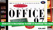 Online Woody Leonhard Teaches Microsoft Office (Author Teaches)  For Kindle