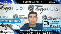 Toronto Raptors vs. Chicago Bulls 3/30/2019 Picks Predictions