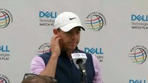 Tiger Woods and Rory McIlroy discuss their match up at the WGC