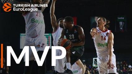 Round 29 MVP: Toney Douglas, Darussafaka Tekfen Istanbul