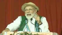 PM Modi slams Congress over corruption during UPA government | Oneindia News