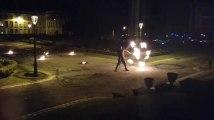 Tournai: magie de la pyrotechnie pour le carnaval de Tournai