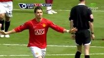 Cristiano Ronaldo ● Goals and Skills ● Manchester United 4:1 West Ham United ● Premier League 2007-08