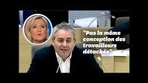 """Xavier Bertrand ironise sur une """"fake news"""" de Marine le Pen"""