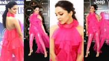 Kiara Advani Looked Pretty in Pink Gown at HT Style Awards 2019 | Boldsky