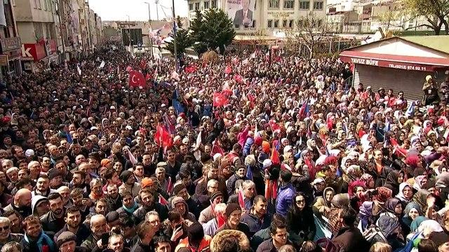 Cumhurbaşkanı Erdoğan: (İmamoğlu) Bunların gönderdiği aday? Proje, proje... Ondan İstanbul gibi bir şehre belediye başkan adayı olur mu? - İSTANBUL