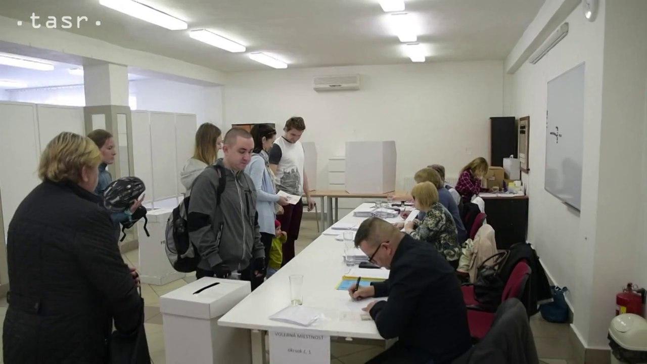 V obci Kúty volia Slováci, ktorí žijú v Českej republike