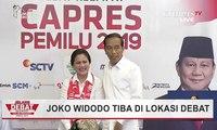 Joko Widodo Tiba di Lokasi Debat Keempat