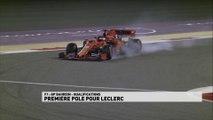 1ère pole en carrière pour Leclerc !