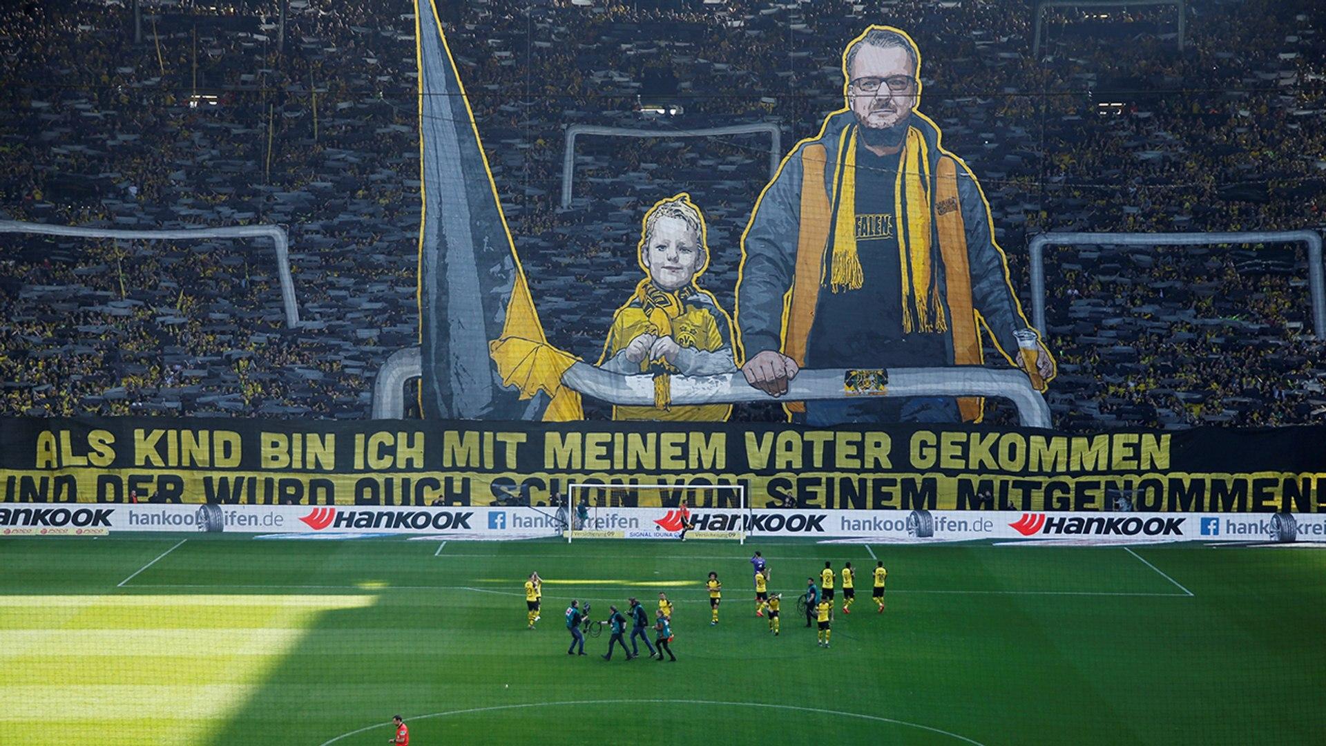 Bundesliga: El impresionante mosaico del Borussia Dortmund