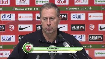 A. Perrin après Nancy-Valenciennes