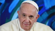 "Pope Says Migration Issues Won't Be Solved By ""Raising Barriers"""