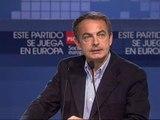 """Zapatero: """"No voy aceptar ningún chantaje de nadie"""""""