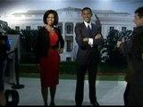 Obama y Michelle inmortalizados en cera