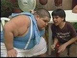 Un niño de 11 años y 170 kilos de peso