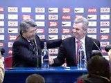 Aguirre se despide del Atlético de Madrid