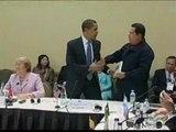 Chávez regala a Obama un libro del uruguayo Eduardo Galeano