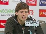 """Silva: """"Tengo muchos años de contrato y estoy muy contento"""""""