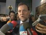 """Rajoy: """"Arantza Quiroga será una excelente presidenta del Parlamento vasco"""""""