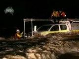 Feliz rescate en las inundaciones australianas