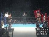 Shinjiro Otani VS Kenichi Yamamoto '95.10.9