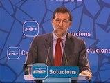 """Rajoy dice que la única novedad del nuevo Gobierno es la de """"arremeter contra el PP"""""""
