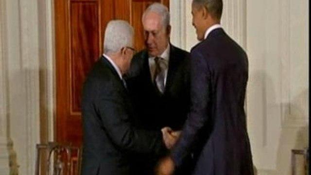 Declaración de buenas intenciones entre Israel y Palestina
