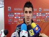 Villa, satisfecho de que todos sus goles hayan servido a la Selección
