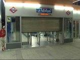 Metro de Madrid reabre sus puertas con los servicios mínimos