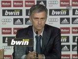 """Mourinho: """"Lo bonito no es entrenar al Real Madrid, es ganar con el Real Madrid"""""""