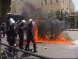 Grecia vive un 1 de mayo marcado por la sombra de la crisis