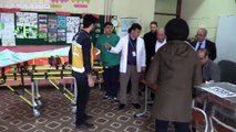 Türkiye sandık başında - Ameliyat olan vatandaş, ambulansla oy kullanmaya getirildi - KAHRAMANMARAŞ